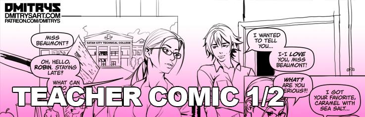 Futa Teacher Comic part 1